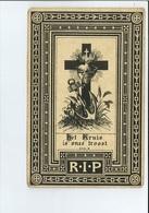 GODEFRIDUS JACOBS ECHTG MARIA J DECKX ° RETIE 1844 + DEUZELD SCHOTEN 1898 - Images Religieuses