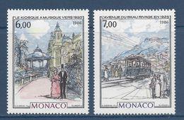 Monaco - YT N° 1543 Et 1544  - Neuf Sans Charnière - 1986 - Monaco