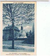 73..CHAMBERY  PARC  DE LEMENC   MONUMENT DE J .J.ROUSSEAU. OEUVRE  DE MARS VALLET TBE - Chamoux Sur Gelon