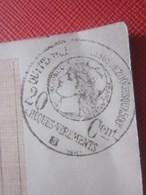 1926 Ancien Chéquier 6 Chèques Voyage Périmés Restants Des Hautes Alpes Cachet Fiscal à Sec Quittance 20c Sur Formulaire - Chèques & Chèques De Voyage