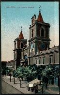RB 1201 - Early Postcard - St John's Church Valletta - Malta - Malta