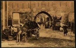 RB 1201 - Early Ethnic Postcard - Rue Arabe & Donkey Cart - Cairo Egypt - Cairo