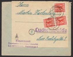 """Mi-Nr. 3A, MeF Mit 3 Werten """"Jüterbog"""", 25.10.46 - Sowjetische Zone (SBZ)"""