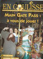 Euro Disney Mickey EN COULISSE N°33 VOL 2 CAST MEMBERS JUILLET 92 TB ORIGINAUX Pour Toutes Mes Ventes. - Organisaties