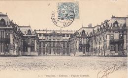 (78) VERSAILLES - Château - Façade Centrale - Versailles (Château)