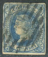 Nr. 55 Gestempelt Michel 20 € - 1850-68 Königreich: Isabella II.