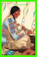 INDIENS - BLACKFOOT INDIAN CHIEF - MONTANA ROCKIES - SUNDANCE - GREAT NORTHERN RY - - Indiens De L'Amerique Du Nord