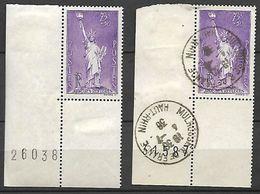 France 1936  Cat Yt N° 309  OBLI Et    N** MNH - Unused Stamps