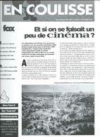 Euro Disney Mickey EN COULISSE CINEMA N°5 VOL 3 CAST MEMBERS 12/92 TB ORIGINAUX Pour Toutes Mes Ventes. - Organisaties