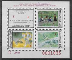 1993 MACEDOINE Bienfaisance BF 5 ** Abeille - Macédoine
