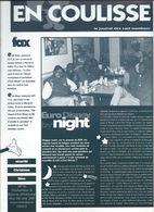 Euro Disney Mickey  EN COULISSE NIGHT N°4 VOL 3 CAST MEMBERS 11/92 TB ORIGINAUX Pour Toutes Mes Ventes. - Organisaties