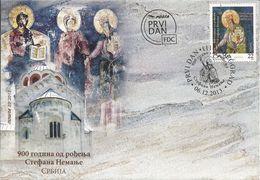 SRB 2013-537 STEFAN NEMANJA, SERBIA, FDC - Serbien