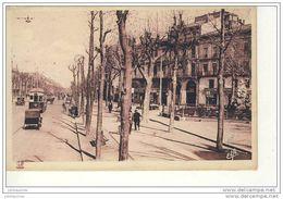 TOULOUSE BOULEVARD CARNOT PLACE ET STATUE ROLAND CPA BON ETAT - Toulouse
