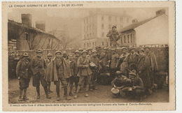 Le Cinque Giornate De Fiume Rijeka Dec. 1920  Cosala Belvedere  Edit Fantini - Croatie