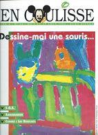 Euro Disney Mickey  EN COULISSE SOURIS N°3  VOL 2  CAST MEMBERS 08/92 TB ORIGINAUX Pour Toutes Mes Ventes. - Organizaciones