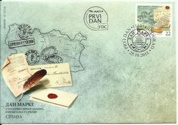 SRB 2013-525 STAMPS DAY, SERBIA, FDC - Serbien