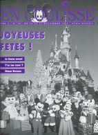 Euro Disney Mickey  EN COULISSE JOYEUSES FETES N°19  VOL 2  CAST MEMBERS 12/91 TB ORIGINAUX Pour Toutes Mes Ventes. - Organisaties
