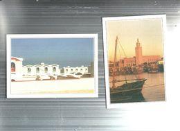 KUWAIT--N.2-CARTOLINE VARI LUOGHI E VEDUTE-FG-N.4554 - Kuwait