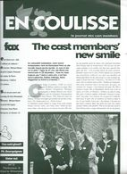 Euro Disney Mickey  EN COULISSE N°2  VOL 3 CAST MEMBERS 10/92 TB ORIGINAUX Pour Toutes Mes Ventes. - Organisaties