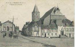 Samer - L'Eglise Et La Mairie - Samer