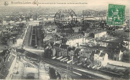 Bruxelles -  Laeken - Vue Panoramique De L ' Avenue De La Reine Vers Bruxelles - Laeken