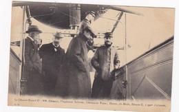 Le Clément-Bayard II - MM. Clément, L'ingénieur Sabatier, Lieutenant Tixier, Zévaco, Du Matin, Zévaco-X, à 300 M. D'alt - Dirigeables