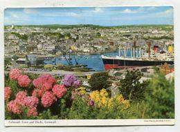 ENGLAND  - AK 317455 Falmouth Town And Docks - Cornwall - Falmouth