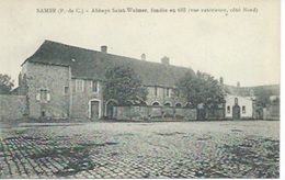 Samer - Abbaye Saint Wilmer, Fondée En 688 ( Côté Nord ) - Samer