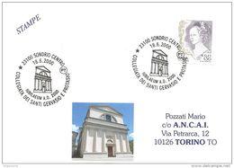 ITALIA - 2000 SONDRIO Giubileo 2000 (collegiata Santi GERVASIO E PROTASIO) - 169 - Eglises Et Cathédrales