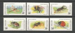 Belgium 1996 Insects Y.T. 2630/2635 ** - Insects