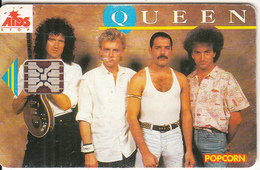 CZECHOSLOVAKIA - Queen, Chip SC5, 08/92, Used - Czechoslovakia