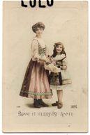 FEMMES N° 333 : Mère Et Fille Bonne Et Heureuse Année 1913 ; édit. Lilas N° 7104 - Femmes