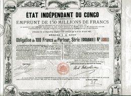ÉTAT INDÉPENDANT Du CONGO; Emprunt De 1888 - Africa