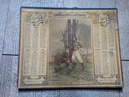 Calendrier Almanach Des Postes Des Télégraphes 1900 Le Turcon Ben Kaddour Au Combat De Lorcy Zouave - Calendars