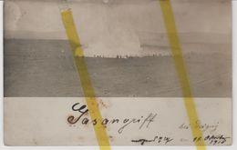 02 AISNE ORIGNY SAINTE BENOITE Canton RIBEMONT ATTAQUE AUX GAZ CARTE PHOTO ALLEMANDE MILITARIA 1914/1918 WK1 WW1 - France