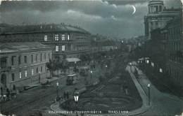Poland - The Night - Warszawa - Krakowskie Przedmiescie - La Fin De La Vieille Cité - Polen