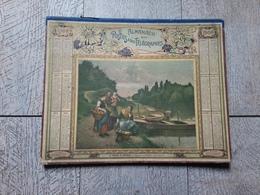 Calendrier Almanach Des Postes Des Télégraphes 1904 Le Bateau De Pontoise Tableau De Jimenez Militaire - Calendars