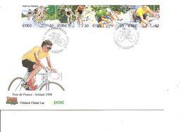 Cyclisme - Tour De France ( FDC D'Irlande De 1998 à Voir) - Cycling