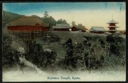 RB 1202 - Early Postcard - Kiyomizu Temple Kyoto Japan - Kyoto