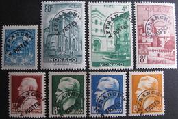 Lot FD/899 - 1943 - MONACO - PREO - N°1 à 4 + 7 à 10 NEUFS**(4)/*(3)/NSG(1) - Cote : 116,30 € - Monaco