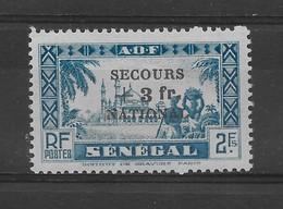 AOF/Sénégal N° 176 De 1941 * TBE - Cote Y&T 2015 De 9 € - A.O.F. (1934-1959)