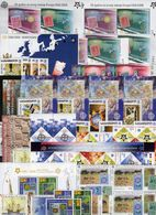 Action Blocks A/B ** 575€ Jubiläum Sympathie-Ausgaben All The World 2006 Ss Blocs M/s Sheets Topic 50 Years Bf CEPT - Collections (without Album)
