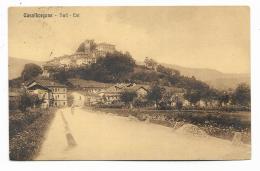 CASALBORGONE - SUD - EST 1914   VIAGGIATA FP - Non Classificati