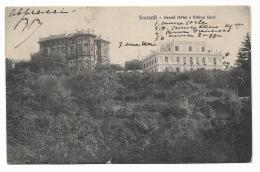 FRASCATI - GRAND HOTEL E VILLINO FERRI  VIAGGIATA 1916 FP - Roma