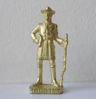 - KINDER. Figurine En Métal. Série N°44. Cow-boys Célèbres 2 N°4 - - Metal Figurines