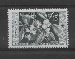AOF N° 62 De 1956 ** TTBE - Cote Y&T 2015 De 1,15 € - Unused Stamps