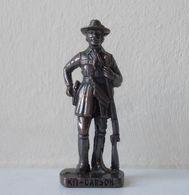 - KINDER. Figurine En Métal. Série N°44. Cow-boys Célèbres 2 N°7 - - Metal Figurines