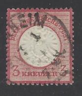 Germania Reich - 1872 - Usato/used - Ordinari - Mi N. 25 - Germania