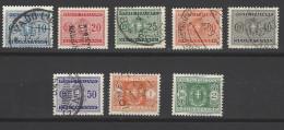Italia Regno - 1934 - Usato/used - Segnatasse - Lotto - 1900-44 Vittorio Emanuele III