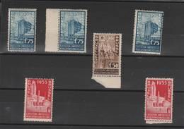 1934- Petit Lot De 6 Timbres ** Exposition Universelle Bruxelles - Belgium